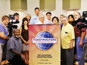 The AM Lockport Toastmasters