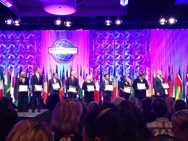 2012 International Convention :: International Speech Competitors.