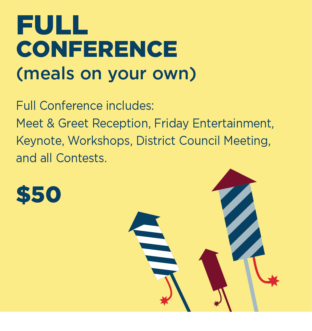 Conference Only (no meals)